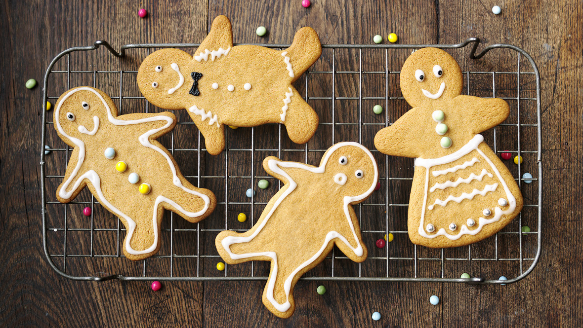 gingerbread men cookies christmas