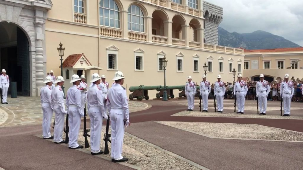 Change of Guards in Monaco