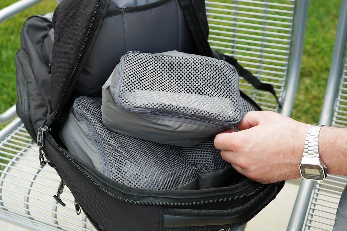 packing cubes for travelers