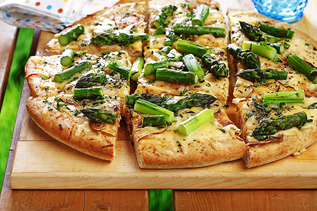 Pizza Asparagus Topping